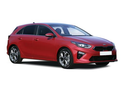 Kia Ceed Hatchback available on a 6 month car lease with 9000 miles over the term of the contract