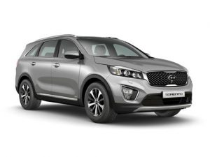 Kia Sorento Station Wagon available on a 6 month car lease with 9000 miles over the term of the contract