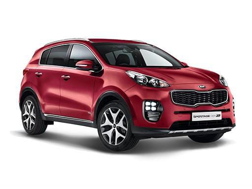 Kia Sportage Estate available on a 6 month car lease with 9000 miles over the term of the contract