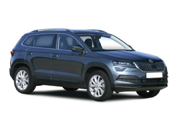 Skoda Karoq Estate available on a 7 month car lease with 10500 miles over the term of the contract