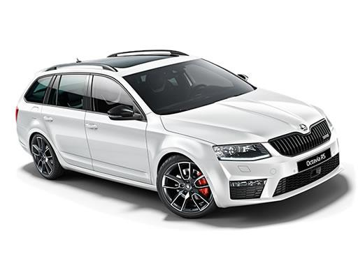 Skoda Octavia Estate available on a 7 month car lease with 10500 miles over the term of the contract