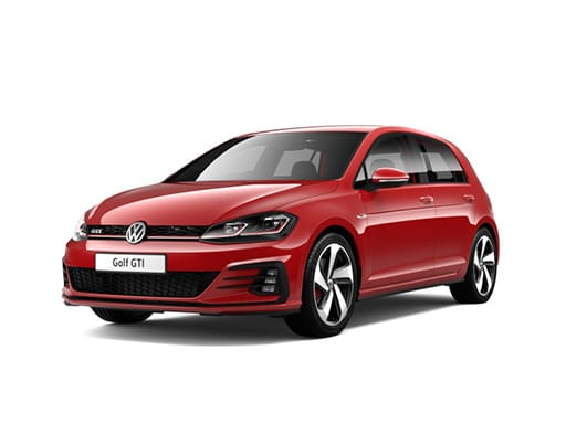 Volkswagen Golf Hatchback available on a 6 month car lease with 7500 miles over the term of the contract