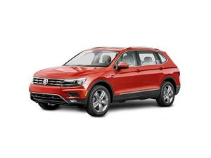 Volkswagen Tiguan Allspace Estate available on a 6 month car lease with 9000 miles over the term of the contract