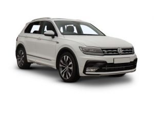 Volkswagen Tiguan Estate available on a 6 month car lease with 9000 miles over the term of the contract