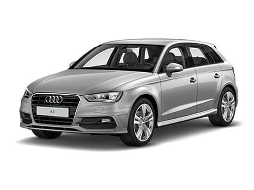 Audi A3 Sportback available on a 12 month car lease with 18000 miles over the term of the contract
