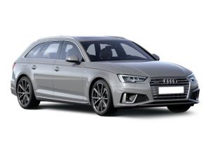 Audi A4 Avant available on a 5 month car lease with 7500 miles over the term of the contract