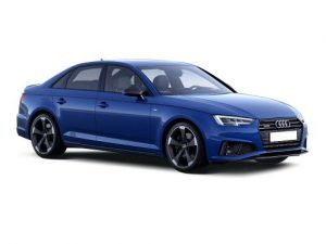 Audi A4 Saloon available on a 5 month car lease with 7500 miles over the term of the contract