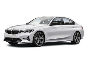 BMW 3 Series Saloon available on a 6 month car lease with 9000 miles over the term of the contract