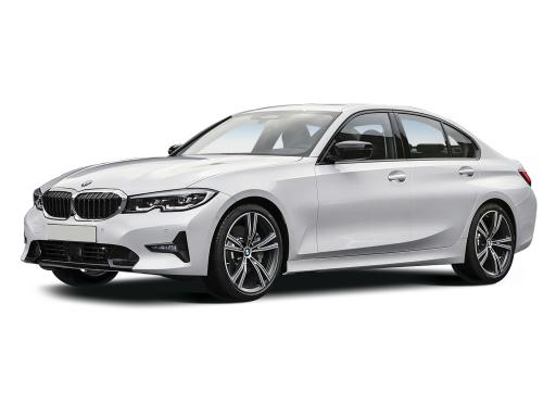BMW 3 Series Saloon available on a 9 month car lease with 13500 miles over the term of the contract