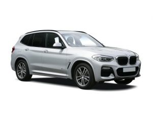 BMW X3 Estate available on a 5 month car lease with 7500 miles over the term of the contract