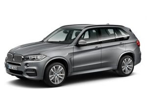 BMW X5 Estate available on a 5 month car lease with 6250 miles over the term of the contract