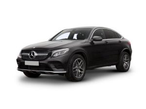 Mercedes-Benz GLC Coupe available on a 5 month car lease with 7500 miles over the term of the contract
