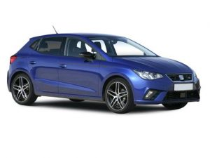 SEAT Ibiza Hatchback available on a 6 month car lease with 9000 miles over the term of the contract