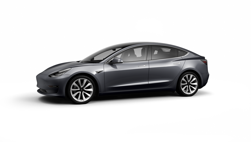 Tesla Model 3 Saloon available on a 15 month car lease with 15000 miles over the term of the contract
