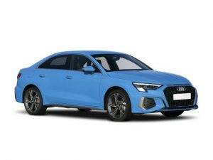 Audi A3 Saloon available on a 12 month car lease with 15000 miles over the term of the contract