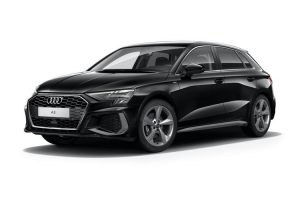 Audi A3 Sportback available on a 6 month car lease with 6000 miles over the term of the contract