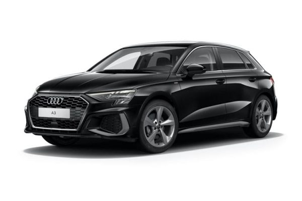 Audi A3 Sportback available on a 9 month car lease with 9000 miles over the term of the contract