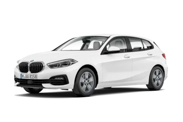 BMW 1 Series Hatchback available on a 3 month car lease with 3000 miles over the term of the contract
