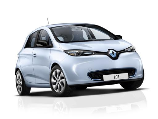 Renault Zoe Hatchback available on a 12 month car lease with 12000 miles over the term of the contract