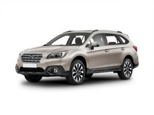 Subaru Outback Estate available on a 12 month car lease with 15000 miles over the term of the contract