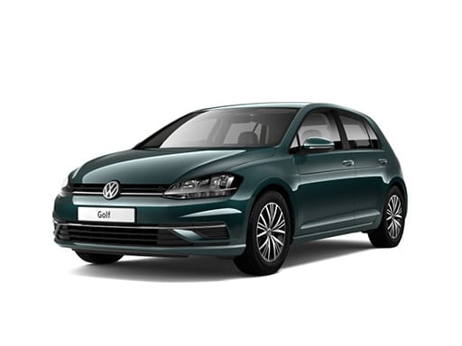 VW Golf Hatchback available on a 7 month car lease with 10500 miles over the term of the contract