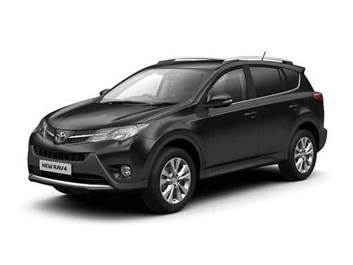 Toyota RAV4 Estate available on a 5 month car lease with 6250 miles over the term of the contract