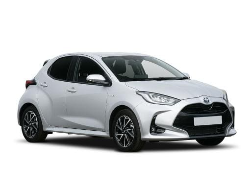 Toyota Yaris Hatchback available on a 12 month car lease with 9996 miles over the term of the contract